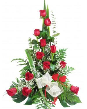 Centro rosas