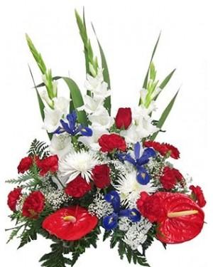 Jardinera flores