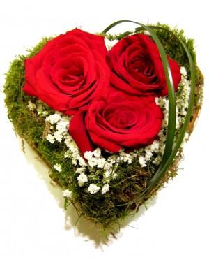 Corazon rosas