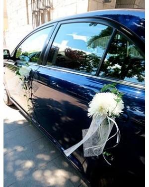 Flores para el coche de novios