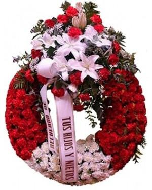 Corona para funeral